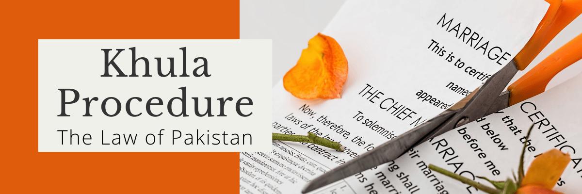 khula procedure in Pakistan
